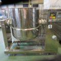 (株)カジワラ 蒸気加熱レオニーダー⑤ 500L KQS-5EL型/1997年製