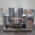 (株)カジワラ 蒸気加熱レオニーダー③ 500L KQS-5EL型/2009年製
