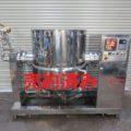 (株)カジワラ 蒸気加熱レオニーダー④ 500L KQS-5EL型/2009年製