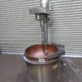(株)品川工業所 加熱撹拌付釜土型(銅釜)AQ1-S-KT20T/2004年製