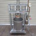 (有)光陽機械製作所 油圧手動式絞り機(1斗用)/2011年製