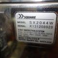 (株)システムスクエア X線異物検出機・リジェクター SX2044W/2013年製
