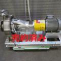 (株)酉島製作所 片吸込渦巻ポンプ CAR32-250/2014年製