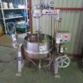 フジ機械(株) 撹拌付蒸気釜 NUS20K/2006年製