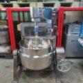 (株)フジイ機械製作所 ユニバース型撹拌機付蒸気釜 NUSS-700/2016年製