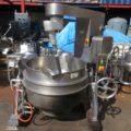 (株)カジワラ 煮炊撹拌機(ガス加熱)KRS-3568/2009年製